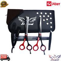 6pcs/set Pro Salon Barber Hair Cutting & Thinning Scissors Shears Hairdressing