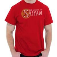Legend of Saiyan Funny Shirt   Dragon Cool Ball Z Nerd Geek T Shirt