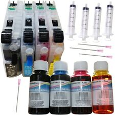 Refillable Cartridges 400ml Ink Fits Brother MFC-J4420DW MFC-J4620DW MFC-J480DW