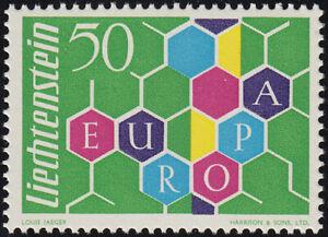Liechtenstein Europa 1960 Mi.Nr. 398 postfrisch Mi.Wert 65 € (6330)