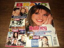 BRAVO POLONAIS 1999/09 (15/4/99) BRITNEY SPEARS LEONARDO DI CAPRIO MADONNA BSB