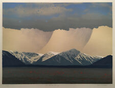 Allen Smutylo (Canadian) - Signed, Numbered Etching - Ice Field Range