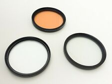 Lot of 3x 86mm Tiffen Filters - Coral, Pro Diffusion, Pro-Mist -Nikon Canon Sony