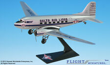 Delta Ship 41 DC-3 Airplane Miniature Model Snap Fit Kit 1:100 ADC-00300C-005