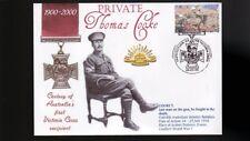 Australian Anzac Victoria Cross 100th Anniv Cov, Thomas Cooke