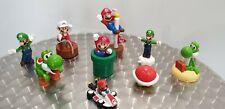 Nintendo lot de 9 figurines MARIO LUIGI ....