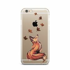 Cute Fox iPhone XS Max XR X Silicone Snap Case Animal Thin Rubber Cover iPhone 8