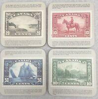 Hannelore Canada Drink Coaster Set of 4 Niagara Falls Mount Hurd Bluenose RCMP