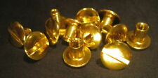 GOLD SCREW SETS FOR ALL CAPITAL PLASTICS PAPER MONEY HOLDERS !