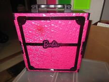 Barbie Doll Case Black Carrying Wardrobe Ultimate Closet Fashionista Pink