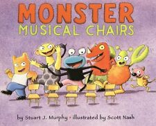 Monster Musical Chairs: Level 1: Subtracting One (