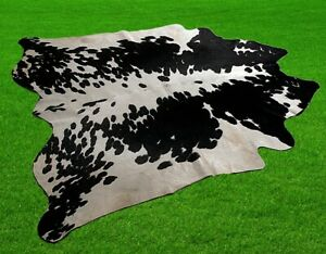 """100% New Cowhide Rugs Area Cow Skin Leather (56"""" x 54"""") Cow hide SA-297"""