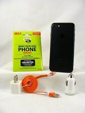 Apple iPhone 7 - 128GB - Black(Verizon/Straight Talk Activation SIM card) & More