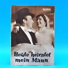 "620 Progress-Filmillustrierte 46/1957 ""Heute heiratet mein Mann"" DDR J. Heesters"