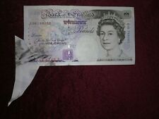 More details for genuine 20 pound note mis - shapen in circulation