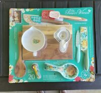 The Pioneer Woman 20 Piece Kitchen Accessory Gadget Set Dazzling Dahlias New For Sale Online