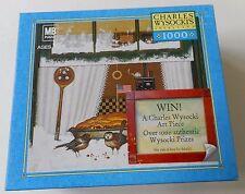 2005 Charles Wysocki BIRD PIE 1000 Piece Puzzle Americana SEALED NIB
