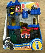 Fisher-Price Imaginext DC Super Friends Wayne Manor Batcave Playset FMX63 ~ New