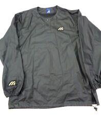Mizuno Polyurethane Xl 44-46 Black Warm Up Jacket Baseball Softball Rain Water