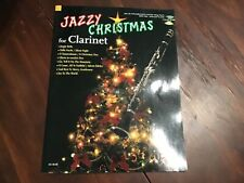 Jazzy Christmas for Clarinet Intermediate Jazz Sheet Music Book Cd Pack