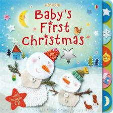 Baby's First Christmas with music CD (Baby'... by Fiona Watt Mixed media product