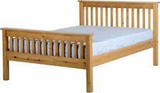 Cadres de lit et lits coffres en bois massif pour la maison