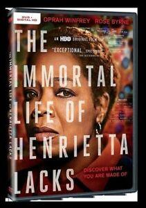 IMMORTAL LIFE OF HENRIETTA LACKS NEW DVD