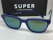 RetroSuperFuture PUP Ray Deep Blue Frame Sunglasses NIB