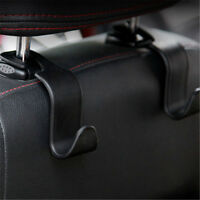 Black Car Auto Universal Hook Organizer Holder Back Seat Purse Coat Bag Hanger