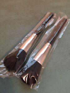 New (2) Crown Brush - C141 Chisel Blush Brush Brand New