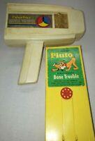 Vintage 1973 Fisher Price Movie Viewer Pluto Cartridge Walt Disney Free Shipping