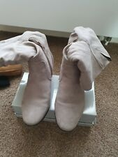 Ladies  slouched boots size 6