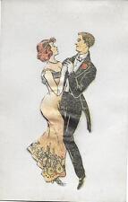 Carte animée Lambert Paris - Couple de danseurs - Carte à Système #2