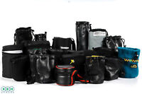 Twenty Assorted Soft Lens Pouches Various Brands, Sizes, & Materials