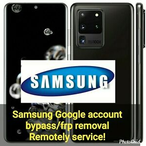 Samsung Google bypass/frp removal remotely, World Wide, Fast service!