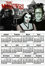 THE MUNSTERS HOUSE LILY HERMAN YEARLY OFFICE KITCHEN FRIDGE 2020 CALENDAR MAGNET