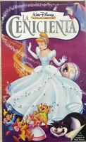 Cinderella VHS Walt Disney Cinderella