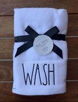 Rae Dunn Bathroom Towels WASH Farmhouse By Magenta NEW!! #1150
