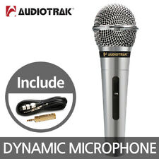 AUDIOTRAK AT-2500 Dynamic Microphone Wired Karaoke Mic Studio Recording Singing