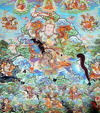 "Mysterious!   ""Thankga Fine Art Print from Tibet""   (35"" High x 30"" Wide)"