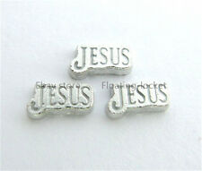 10pcs Jesus Floating charms For Glass living memory Locket FC0754