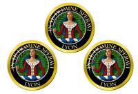 Lyon Écossais Clan Marqueurs de Balles de Golf