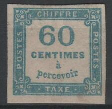 "FRANCE STAMP TIMBRE TAXE 9 "" CHIFFRE TAXE 60c BLEU "" NEUF x TB A VOIR   N541"