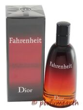 FAHRENHEIT 3.3/3.4 OZ EDT SPRAY FOR MEN BY CHRISTIAN DIOR NEW IN A BOX