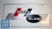 1968 Oldsmobile Cutlass / 442 Hurst Olds Accessory License Plate