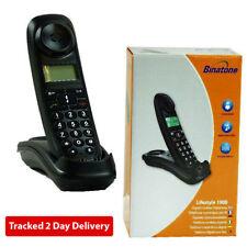 Téléphones sans fil noir Binatone