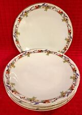 "B & C France L.Bernardaud & Co Limoges (5) 7.75"" Dessert-Salad Plates"