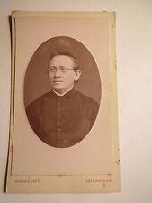 Bruxelles - Camberg - 1880 - Hermann Houben als Geistlicher mit Brille / CDV