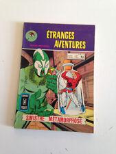 AVr24---- ARTIMA   Comics Pocket  ÉTRANGES AVENTURES     N° 60