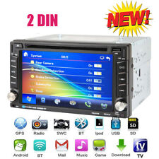 6.2'' 2DIN Auto CD DVD Lettore Stereo Autoradio BT FM USB MP3 Player+mappa GPS